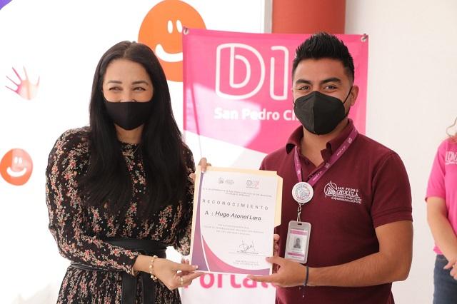 """San Pedro Cholula trata bien a todos sus turistas"""": Leticia Torres"""