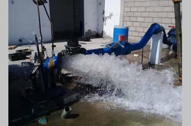 Tehuacán rehabilita dos pozos para suministrar agua potable al municipio
