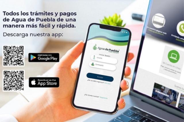 Agua de Puebla protege a usuarios ante riesgos de Covid