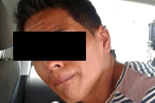 Policía Preventiva aseguró a un presunto asaltante