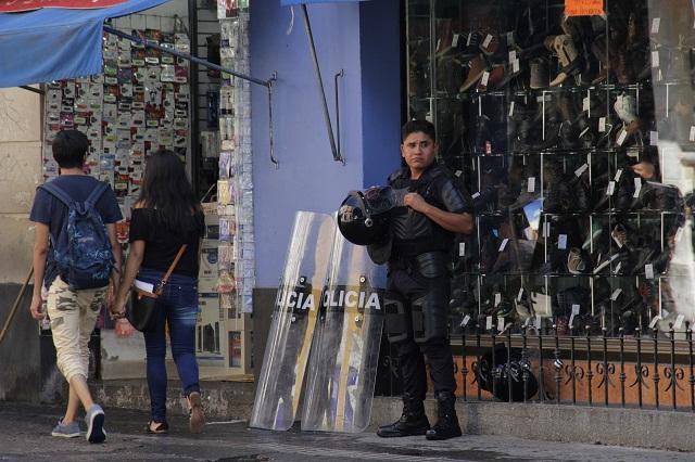 Inicia ordenamiento de ambulantes en el centro de Puebla