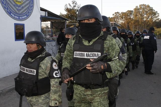 Hasta 2021 construirá la Guardia Nacional 6 cuarteles en Puebla