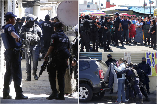 Con un detenido, estrena Barbosa decreto para controlar seguridad