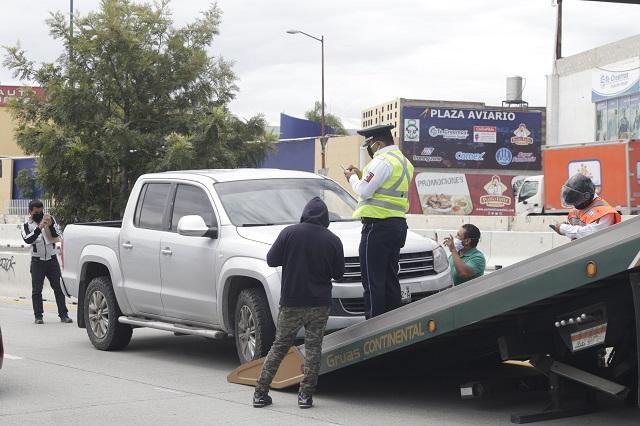 Era previsible fracaso de Hoy no Circula en Puebla: PAN y PRI