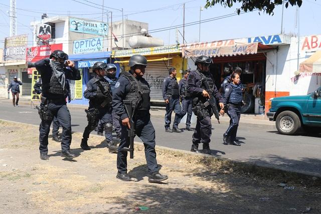 Denuncian presión del crimen organizado en mercados poblanos