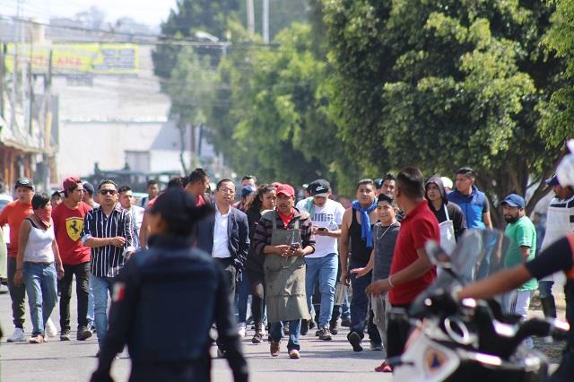 Según Encinas Meneses, se reprime a comerciantes por apoyar a Armenta