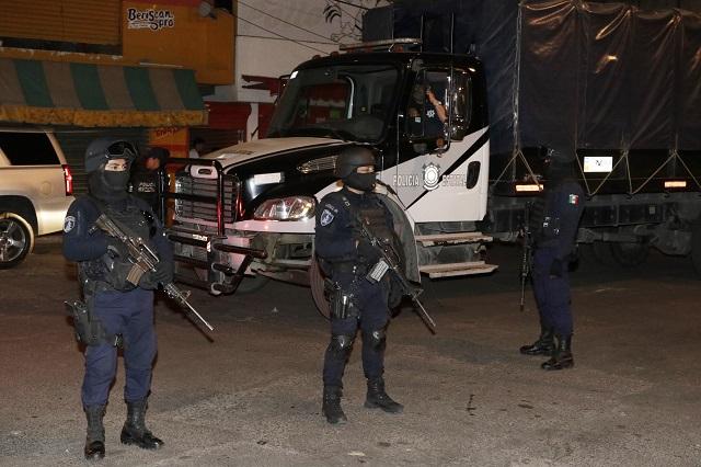 Hallan restos humanos y droga en el mercado Morelos