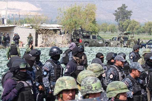 Gobierno se apegará a derechos humanos en caso de Palmarito, asegura