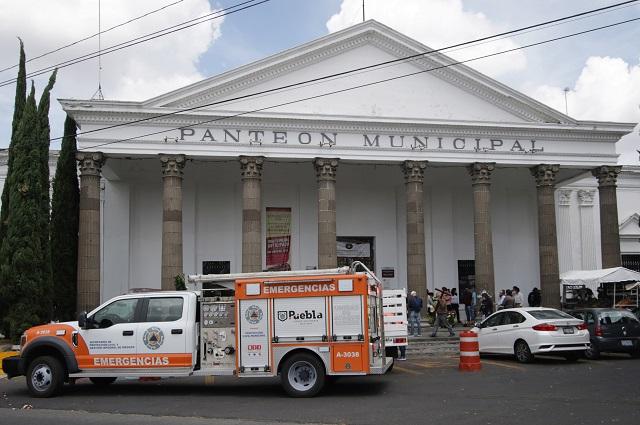 Oficial: no abren panteones de Puebla capital por Todos Santos