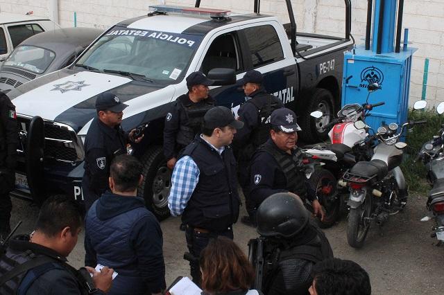 Dejan en prisión a 117 expolicías municipales de Texmelucan