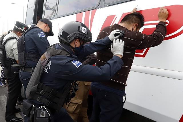 Realizan operativo de seguridad en límites de Puebla y Tlaxcala