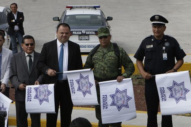 Nombran a nuevo comisario de la Policía federal en Puebla