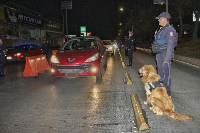 Alcoholímetro remitió 22 autos al depósito vehicular el fin de semana