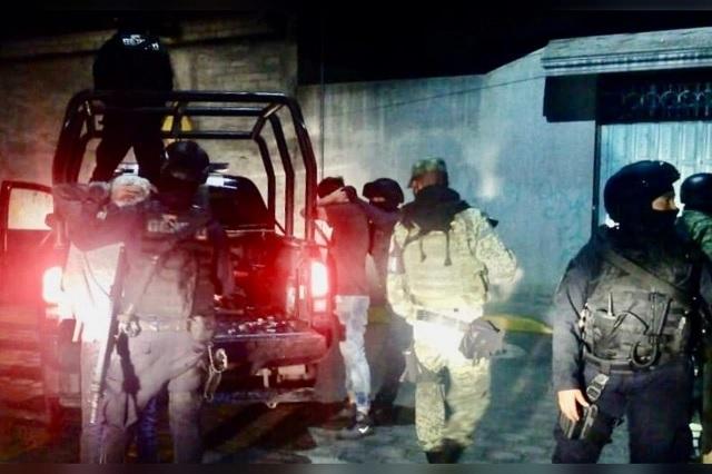 Operativo en Tehuacán deja 22 detenidos y un bar clausurado