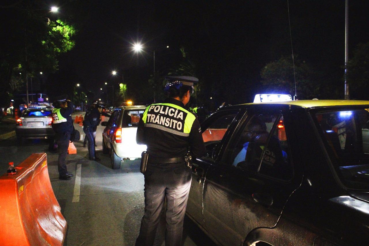 Alcoholímetro detectó a 17 intoxicados en grado severo