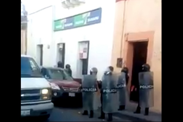 Policía Federal causa alerta con operativo en Atlixco