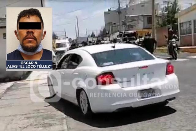 Hasta en las azoteas buscaban a El Loco Téllez en Apizaco (Video)