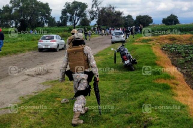 Operativo de la Guardia Nacional tras agresión a Pemex en Tepeaca