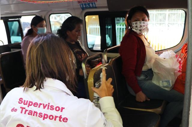 Operativo de sana distancia Realiza SMT en Xicotepec