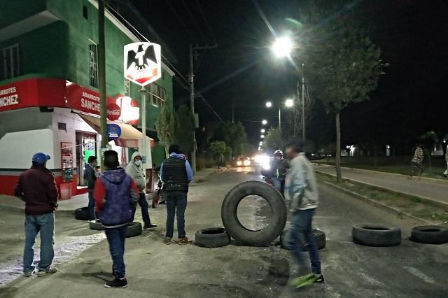 Vecinos de Tehuacán se oponen a bodega de gas en el municipio