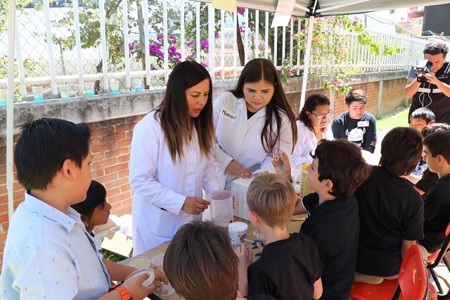 Centro UNE-UPAEP organiza Feria de Ciencias para niños