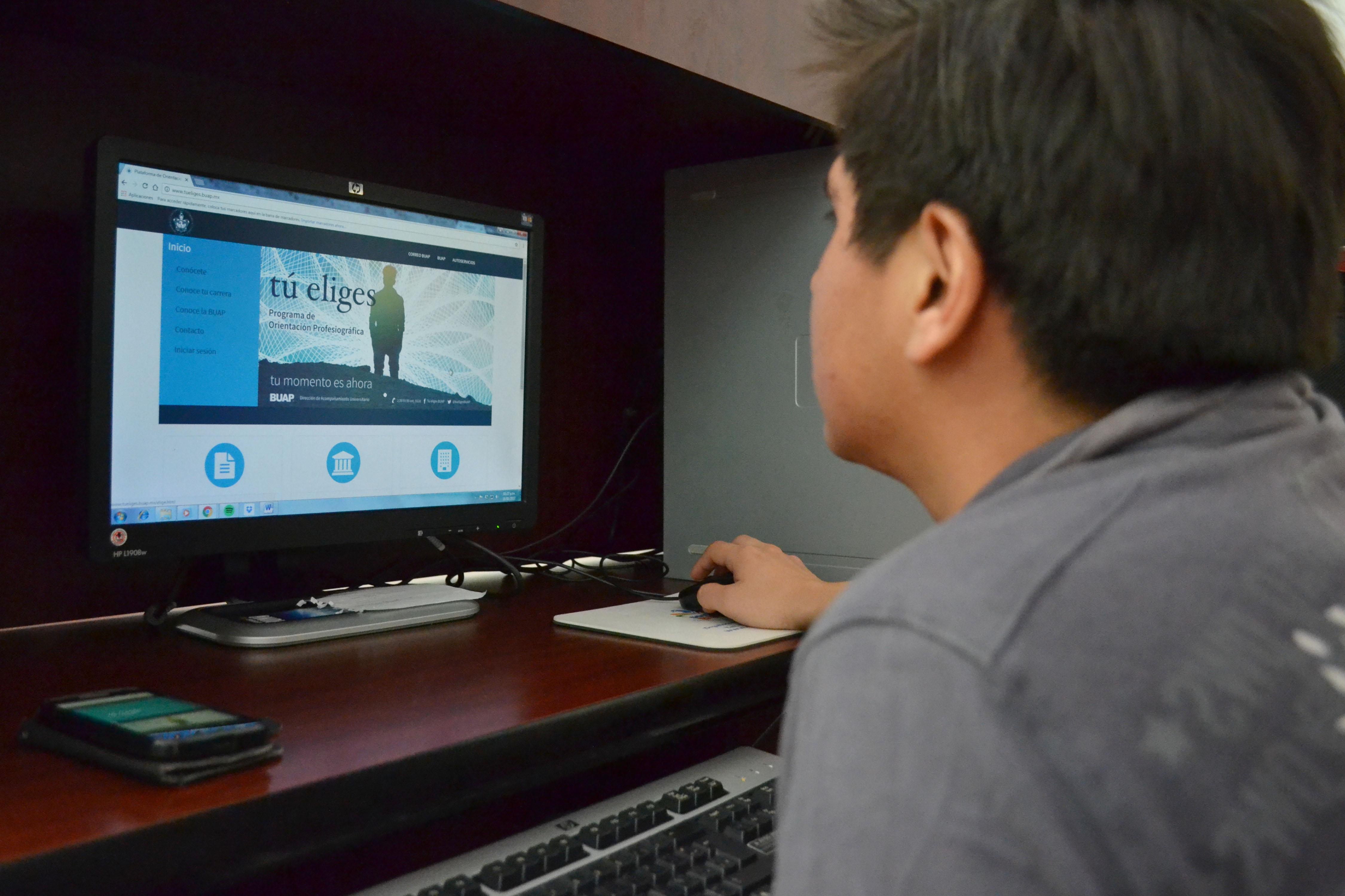 Presenta la  BUAP plataforma para  ayudar  a aspirantes a elegir carrera