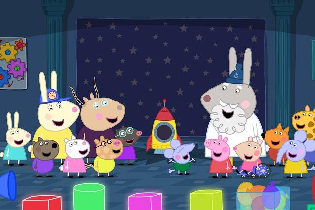 ¿Cuál es el propósito de Peppa Pig en los niños?