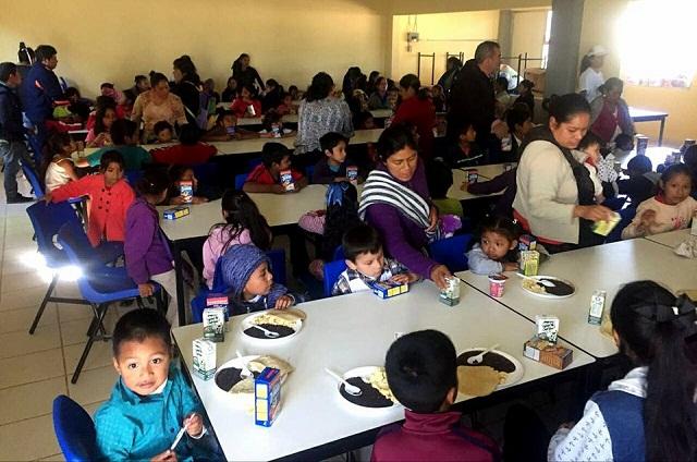 SEDESOL Puebla entrega apoyo alimentario a jornaleros agrícolas