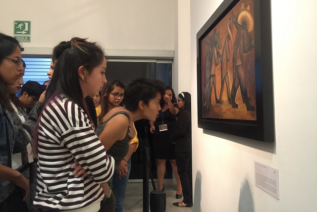 Obras de Orozco, Rivera y Siqueiros en la Galería de arte CCU BUAP