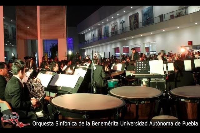 Conciertos al aire libre con la Orquesta Sinfónica de la BUAP