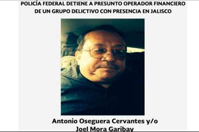 Federales capturan en Jalisco al hermano de El Mencho