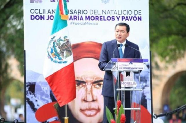 México está de pie gracias a los voluntarios: Osorio Chong