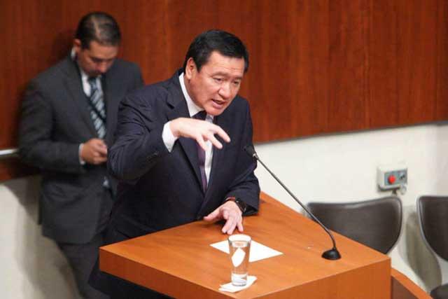 Legisladores critican a Osorio Chong y lo responsabilizan de la inseguridad