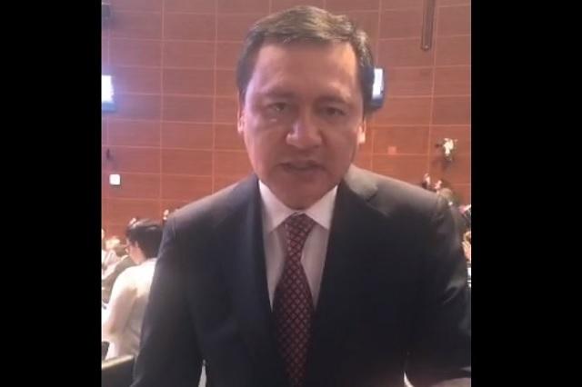 Osorio Chong rechaza que le haya tendido una trampa a Elba Esther Gordillo