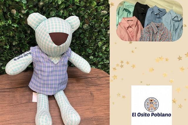 Hacen en Puebla osos con ropa de personas que murieron: esto cuestan