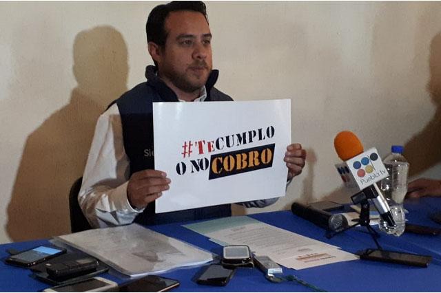 Promete Oswaldo Jiménez donar 5 alarmas vecinales al mes