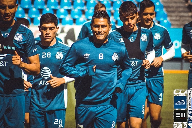 Osvaldo Martínez ya entrena con la Franja