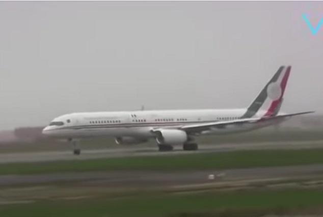 El otro avión presidencial, lo usaron Salinas, Fox, Peña y Calderón