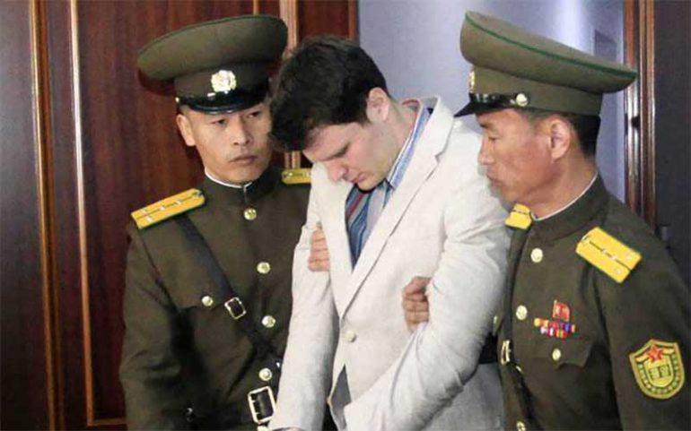 Trump arremete contra Corea por muerte de joven que estuvo preso