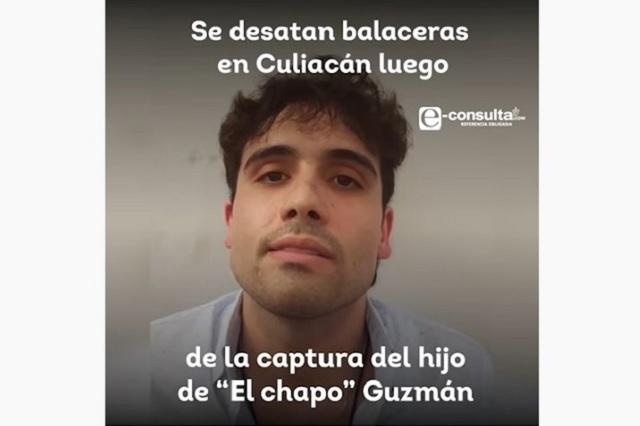 Ovidio Guzmán, hijo de El Chapo, encabeza lista de extraditables a EU