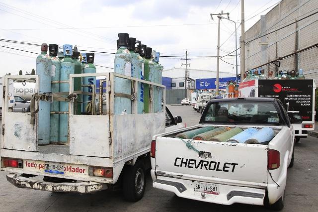 Aumenta robo, engaño y desesperación por oxígeno en Acatlán