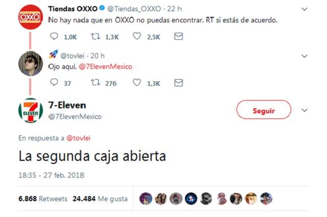 7Eleven se burla de Oxxo en Twitter y usuarios responden memes y bromas