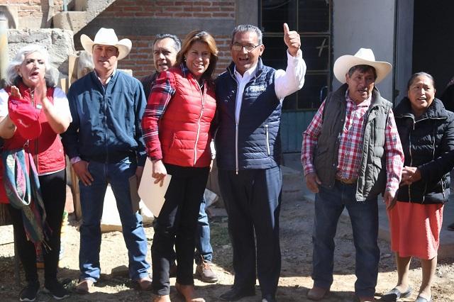 Reprueba Jiménez Merino en Teziutlán uso electoral de programas sociales