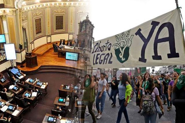 PAN va otra vez contra aborto en Puebla pero avala bodas gay