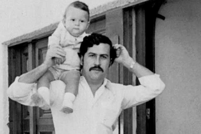 Revelan foto de hija de Pablo Escobar quien borró su pasado y mudó de país