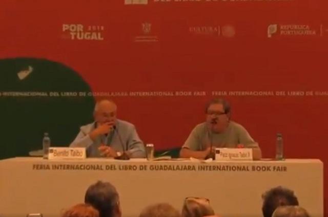 Paco Ignacio Taibo II se disculpa por haber usado frase desafortunada y vulgar