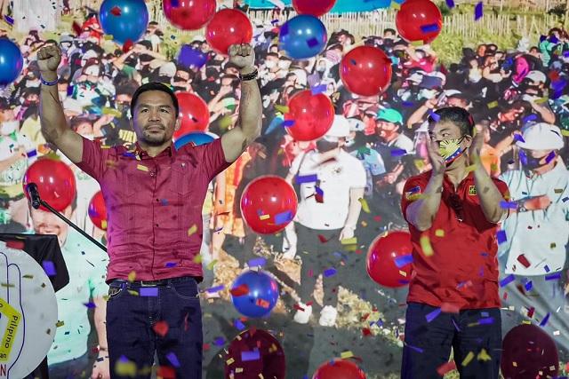 Va por todo: Pacquiao ahora buscará la presidencia de Filipinas
