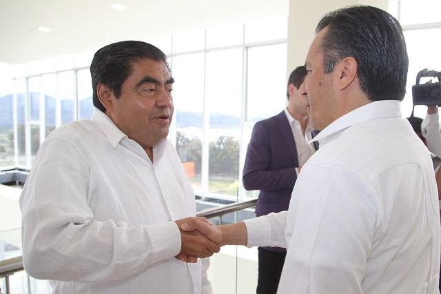 Pactan gobernadores estrategia de seguridad para Puebla y Veracruz