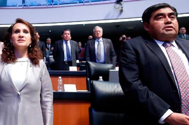 Padierna adelanta que Miguel Barbosa renunciará al PRD el lunes