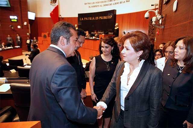 Senado no reconoce a Padierna ni a Morón como coordinadores del PRD